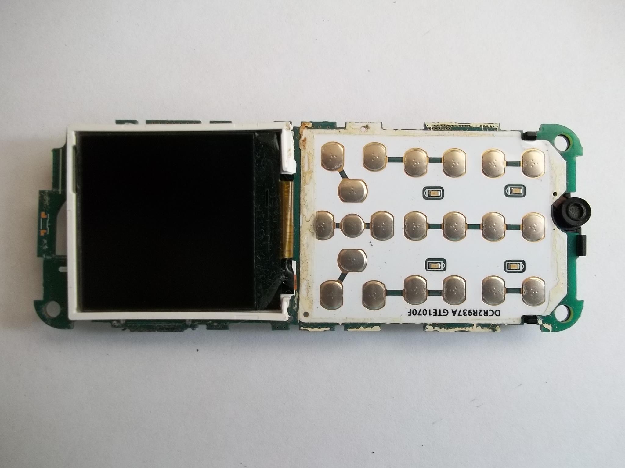 схема от дисплея сотового телефона