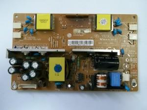 Полностью открученная плата блока питания и инвертора монитора LG FLATRON L1740BQC