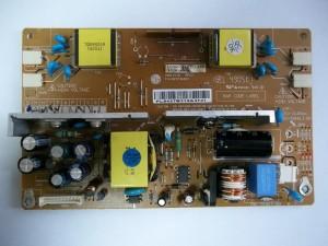 Плата инвертора-блока питания монитора LG FLATRON L1740BQC с уже поменянными деталями