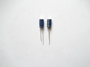 Два конденсатора 33mFx50V. Установка вместо C14 и C30