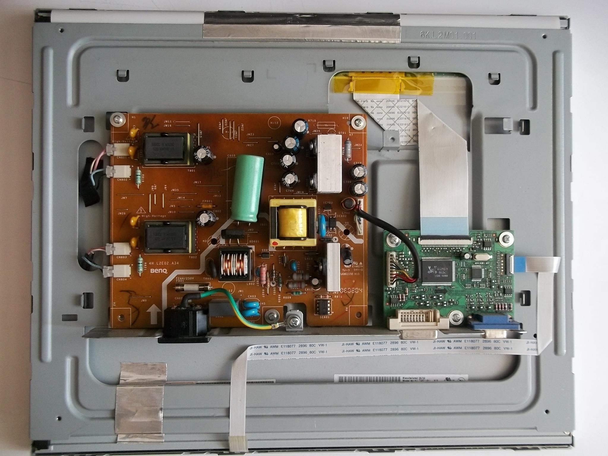 монитор benq схема платы q7t5