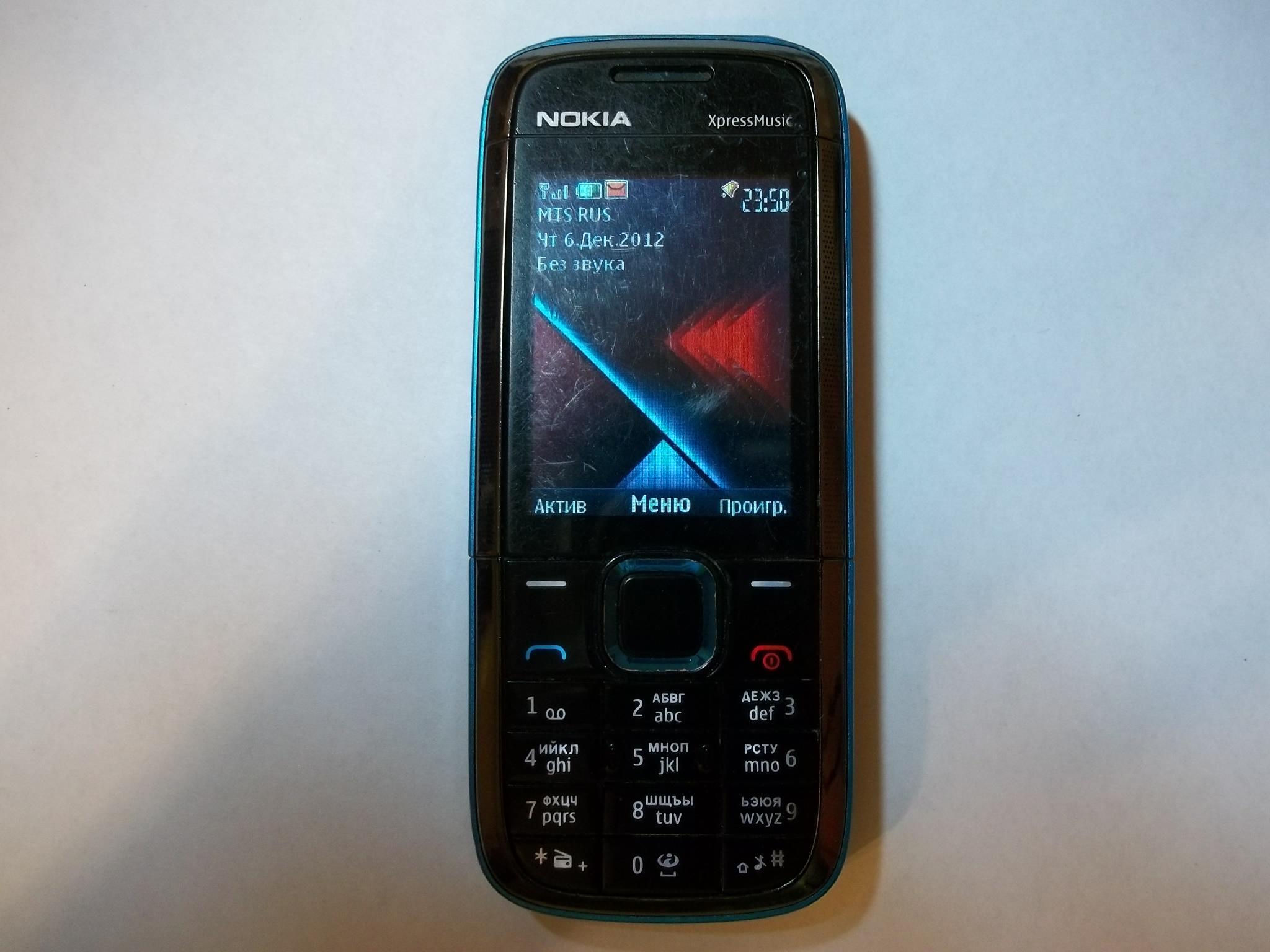 Замена дисплея на сотовом телефоне Nokia 5130c-2