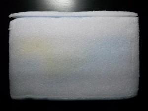 Коробка с планшетом обернутая в поролон