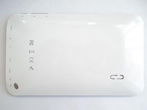 Внешний вид планшета с сзади