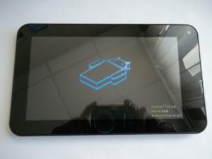 Нормальное включение планшета на VIA8850