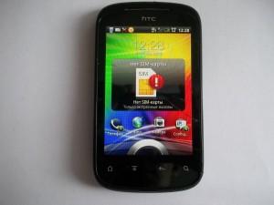 Сотовый телефон HTC Explorer с разбитым тачскрином