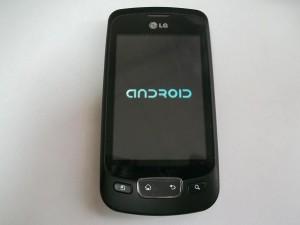 Сотовый телефон LG P500