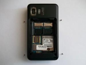4 винта сотового телефона Samsung SGH-D980
