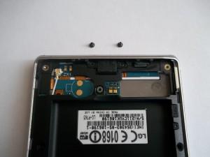 LG P765 Optimus L9 два скрытых винта