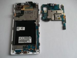 LG P765 Optimus L9 с вынутой платой