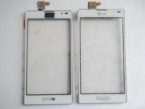 Новый и старый тачскрины в сотовом телефоне LG P765 Optimus L9