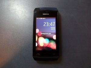 Телефон Nokia 305 с неисправным тачскрином