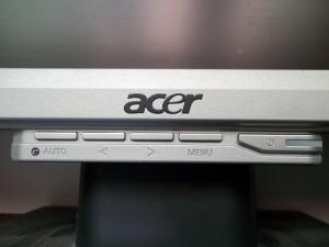 Панель управления жк монитора Acer AL2216W