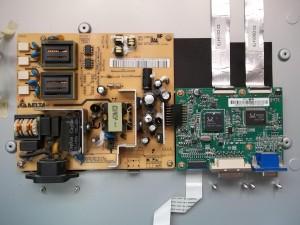 Монитор Acer AL2216W (внутренности)