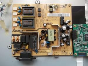 Вздутые конденсаторы в блоке питания жк монитора Acer AL2216W