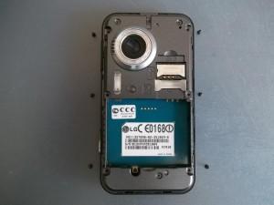Сотовый телефон LG KC910. 6 винтиков.