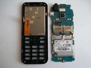 Плата сотового телефона Samsung GT-C3322