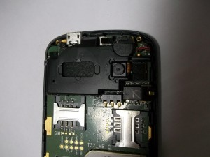 Разъем тачскрина сотового телефона Fly E200