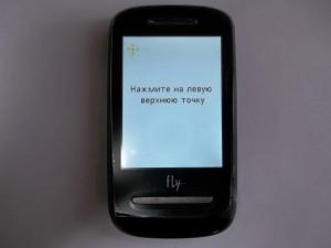 Калибровка сенсора сотового телефона Fly E200