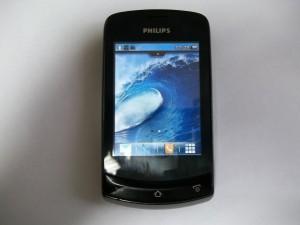 Philips X518 с новым тачскрином
