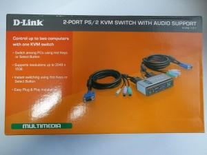 Коробка D-Link KVM-121