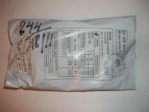 Посылка с ebay с щупом для осциллографа