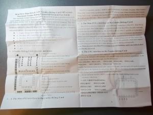 Инструкция от LPC POST карты с одной стороны