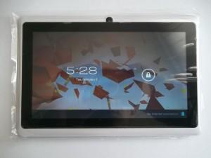 Главный экран планшета на ATM7013