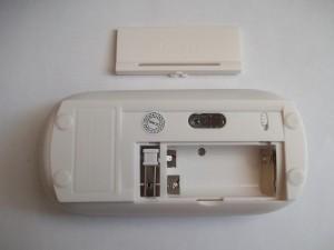 Беспроводная мышка с открытым батарейным отсеком