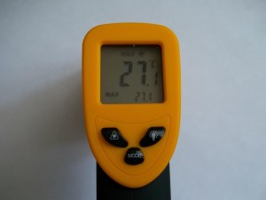 Температура бумаги в помещении