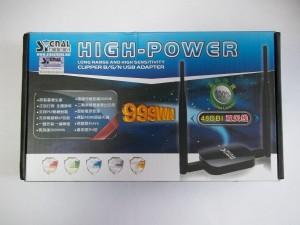 Коробка с Signal King 999WN с передней стороны