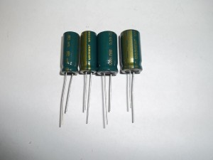 Новые конденсаторы в блоке питания DELTA 300W