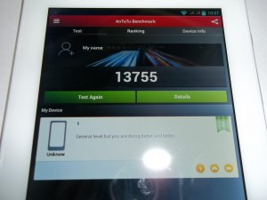 Результат antutu планшета Ainol AX1 3G