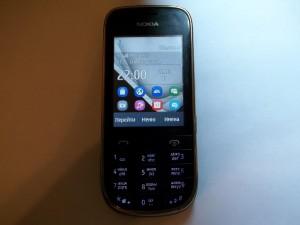 Сотовый телефон Nokia 202 в рабочем состоянии