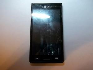 LG P705 с разбитым дисплеем