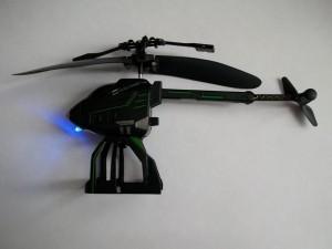 Вертолет в разложенном состоянии