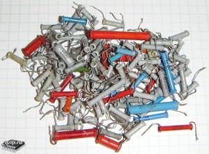 Трубчатые керамические конденсаторы