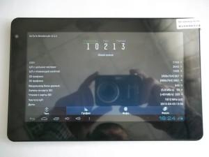 Результаты теста Antutu Benchmark на планшете Onda V701