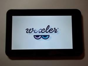 Включаем планшет Wexler TAB 700