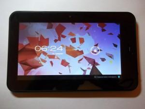 Экран блокировки на планшете Wexler TAB 700