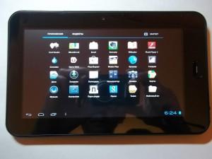 Приложения в планшете Wexler TAB 700
