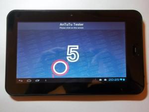Пятиточечный мультитач в планшете Wexler TAB 700