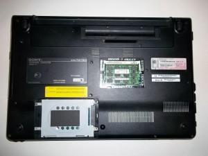 Откручиваем все винты ноутбука Sony Vaio PCG-71211V