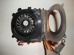 Забитый вентилятор ноутбука Sony Vaio PCG-71211V