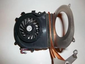 Чистый радиатор ноутбука Sony Vaio PCG-71211V
