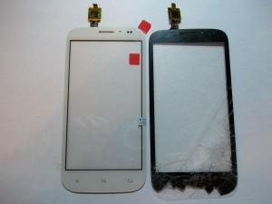 Новый белый тачскрин сотового телефона Fly IQ4404