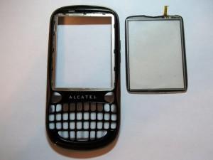 Отклеиваем старый тачскрин в сотовом телефоне Alcatel OT-806