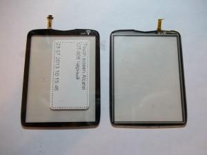 Новый и старый тачскрины сотового телефона Alcatel OT-806