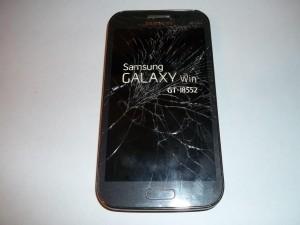 Сотовый телефон Samsung GALAXY Win GT-I8552 с разбитым тачскрином