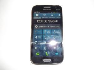Проверка работы тачскрина сотового телефона Samsung GALAXY Win GT-I8552